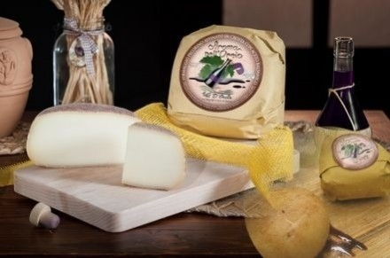 PECORINO CHEESE MATURED IN BALSAMIC VINEGAR - Caseificio Val d'Orcia